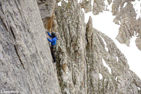 escalade stage, rock climbing guide