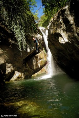 canyoning guide, canyoning Guillestre, expert canyon