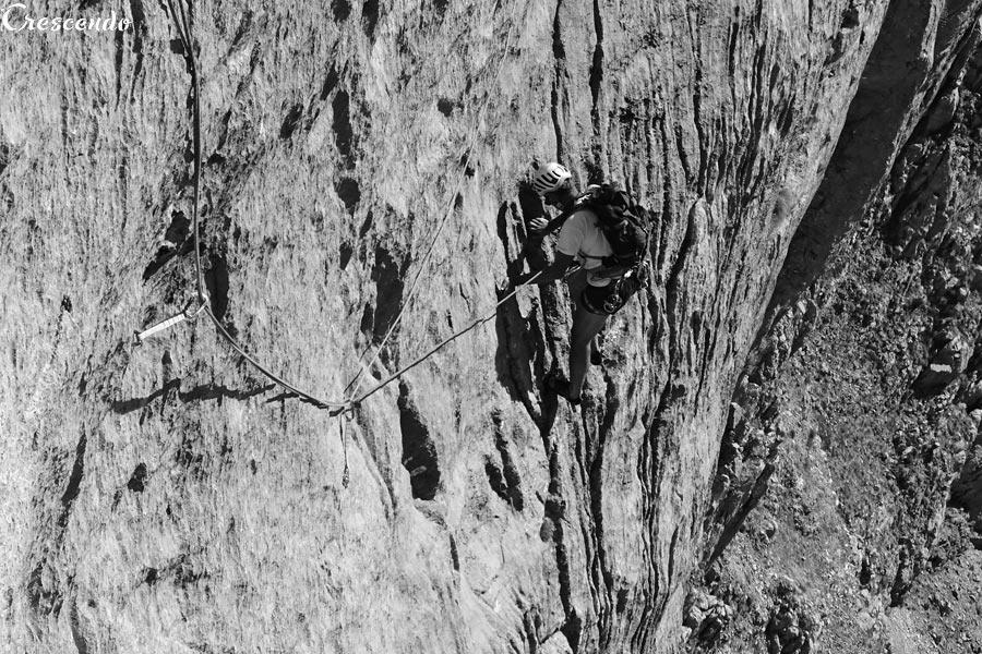 calcaire Turque, escalade calcaire, grande voie