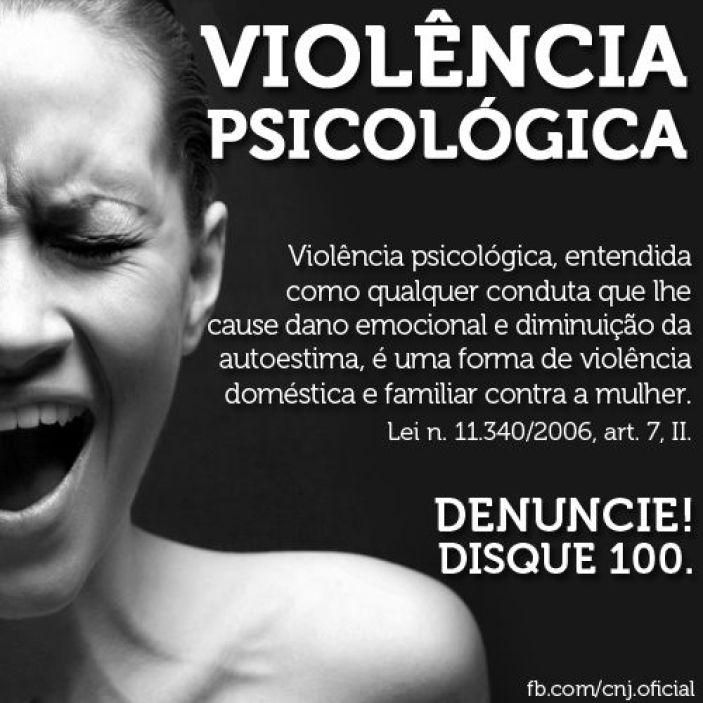 violência psicologica
