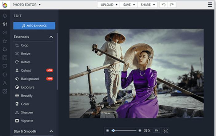 befunky editor de fotos para blogueiras