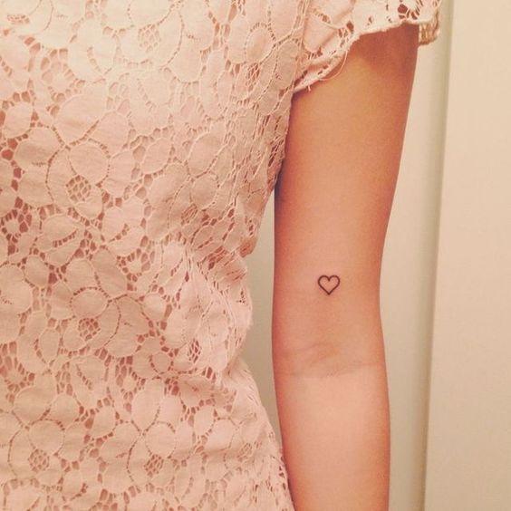 tatuagem pequena feminina #tattoo