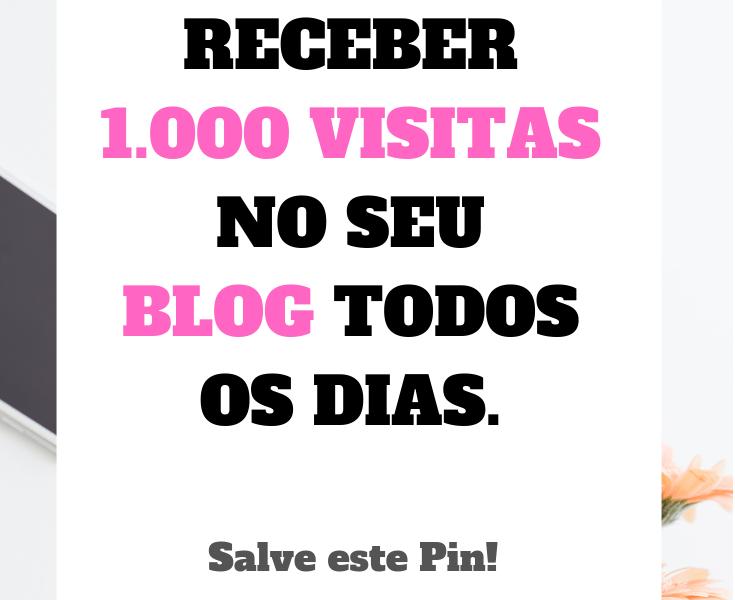 Se você tem poucas visitas diárias, não consegue aumentar o tráfego do blog vezes e quer mudar essa realidade, esse post é para você. Nós sabemos que não adianta só escrever um texto, postar e pronto, é preciso analisar e usar estratégias para alcançar as metas. Portanto hoje eu vou te ensinarcomo receber mais de 1.000 visitas no seu blog todos os dias.