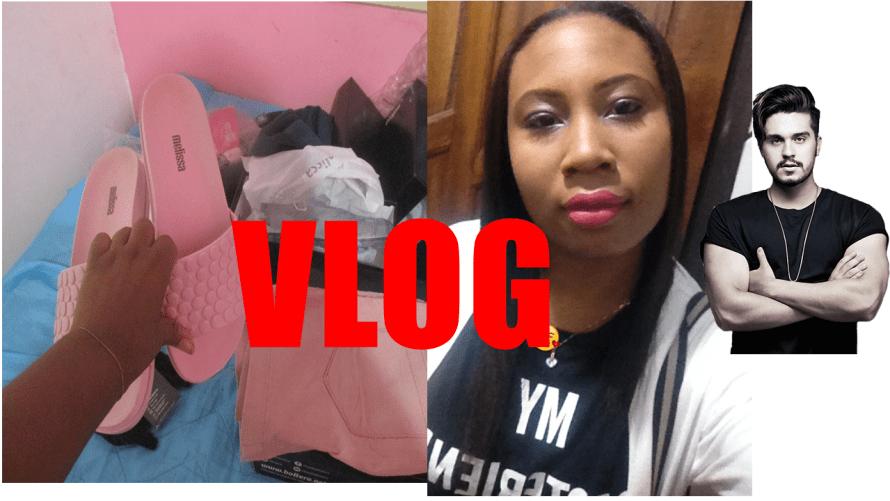 vlog, comprinhas e show luan santana
