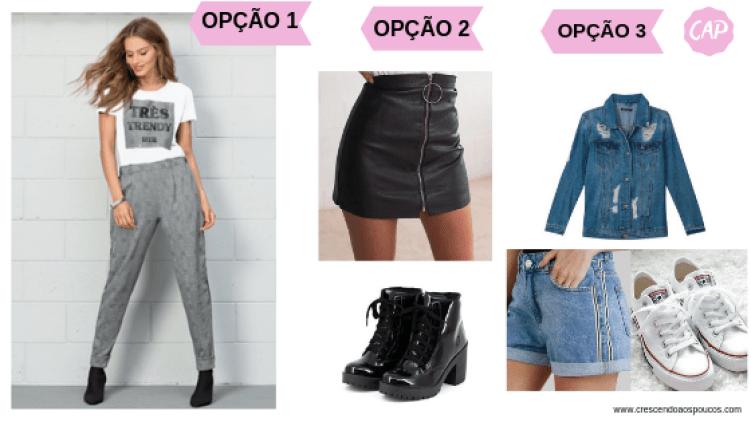 3 opções de usar blusa feminina