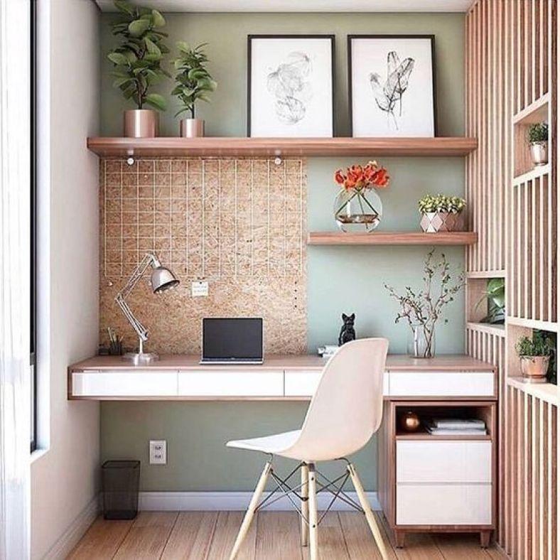 ideias de home office e escritorio pequeno