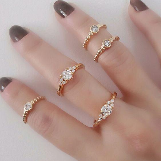 como usar anéis