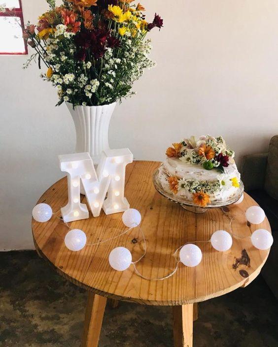 decoração aniversário simples em casa