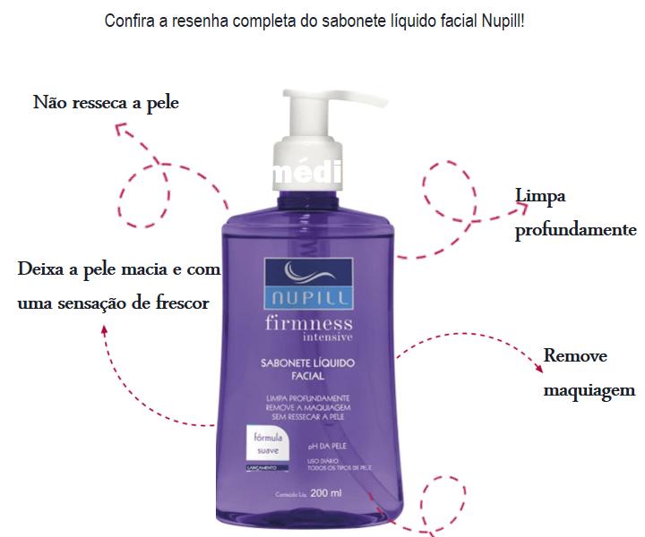 sabonete liquido facial nupill