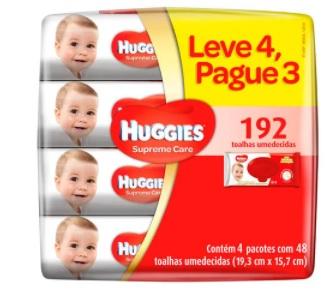 lenços umedecidos huggies