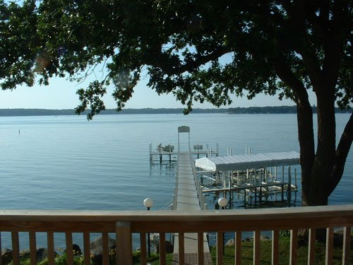 Okoboji Resort and Waterfront Property with Dock
