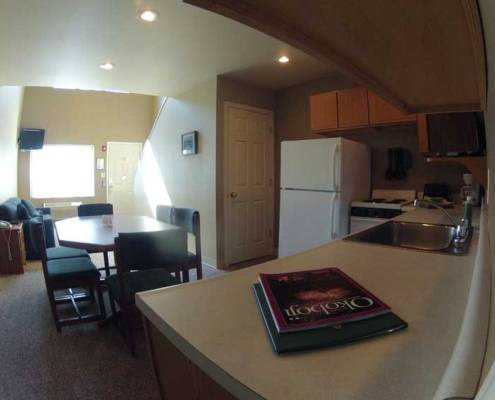 Okoboji Rental Property Kitchen