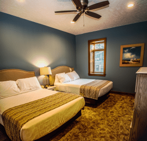 Okoboji Resort and Okoboji Vacation Rental Bedroom