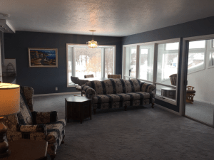 Okoboji Resort and Vacation Rental Living Room