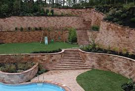 Beautiful Multi-Tiered Retaining Wall