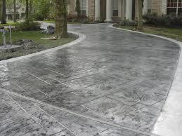 Beautiful Custom Concrete Driveway