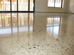 Newly Polished Concrete Floor