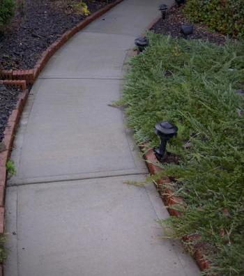 Basic Concrete Walkway
