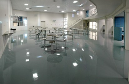 Commercial Application Epoxy Coating