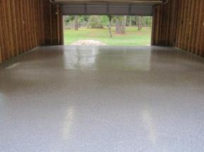 Nice Epoxy Coating Work in Garage