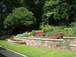 Nice Stone Garden Retaining Wall