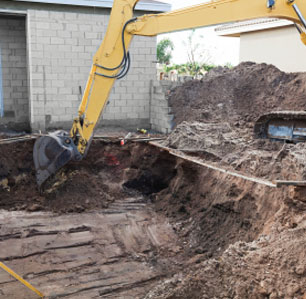Excavating for New Pool