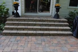 Contemporary and Clean Front Porch Steps