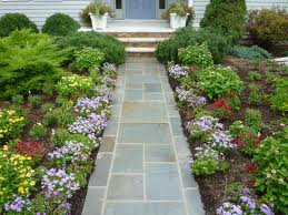 Beautiful Flagstone Walkway