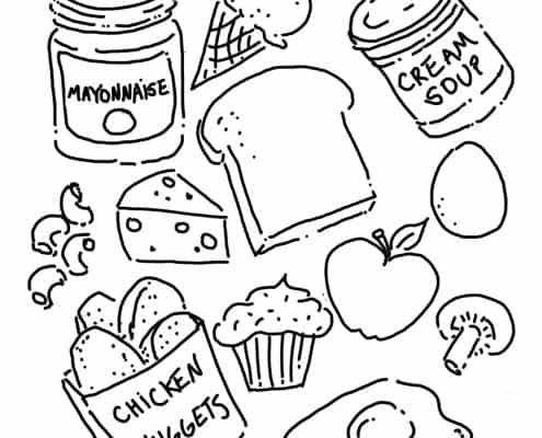 Coloring Sheets Crescent Foods Premium All Natural Halal