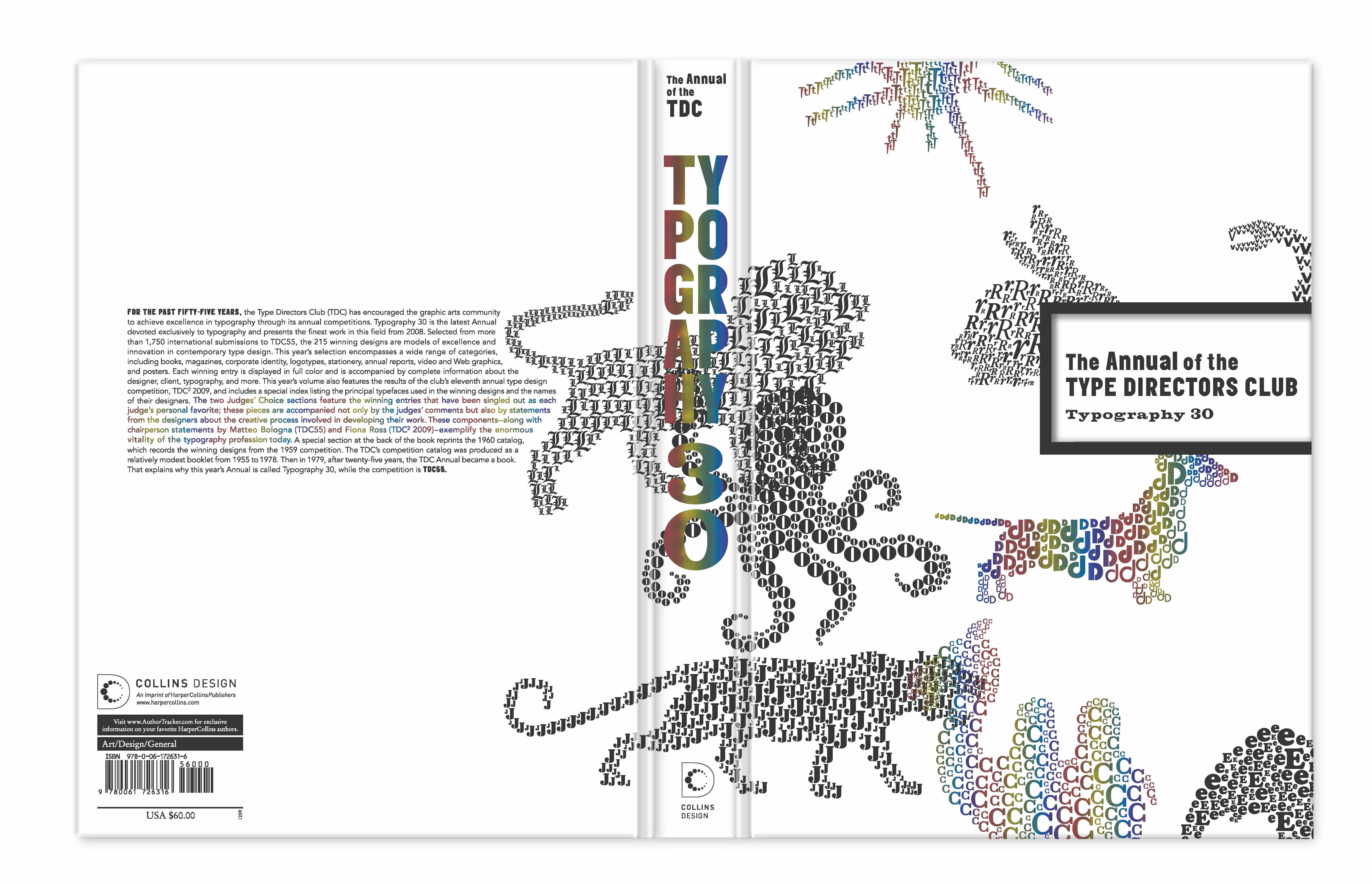 100109 TDC book rainbow foil