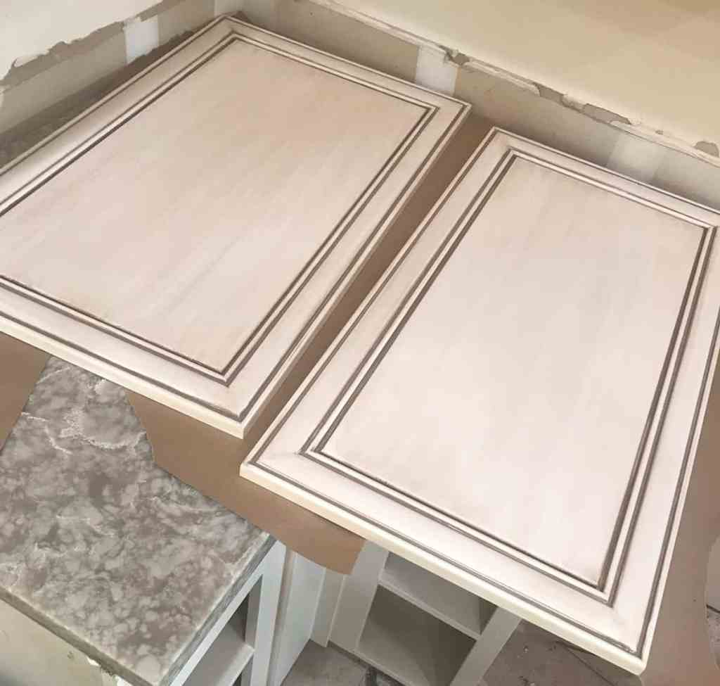 Kitchen cabinet doors recently refinished by an expert Maui painting contractor