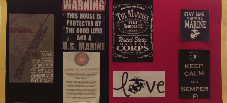 Marine Corps Collage