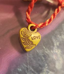 heart for keychain