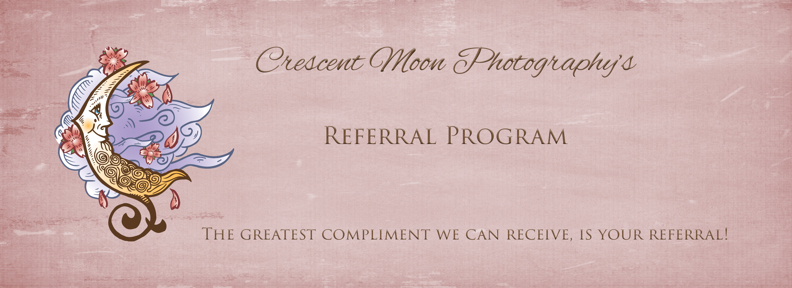 referral program crescent moon photography