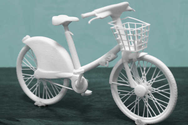 Vélib' en frittage de poudre polyamide