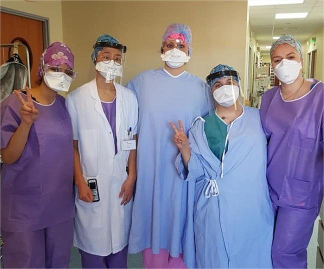 Le personnel du centre hospitalier sud francilien et de la clinique Galien ont déjà reçu des masques (©DR)