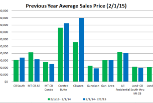 January 2015 Crested Butte Market Report