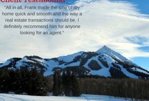 Highly Recommended real estate agent in Crested Butte Colorado