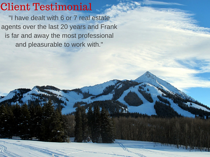 Crested Butte recommended real estate agent