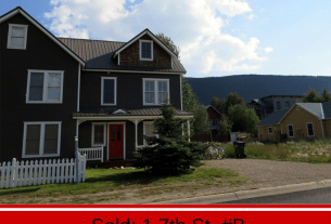Crested Butte home sold in crested Butte, CO