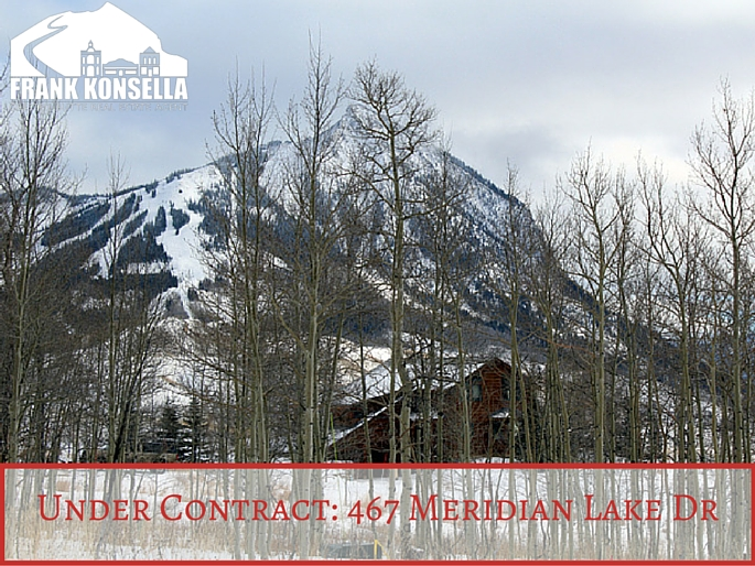 Meridian Lake land under contract near Crested Butte