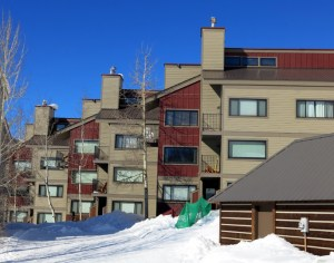 Buttes condominiums Crested Butte for sale