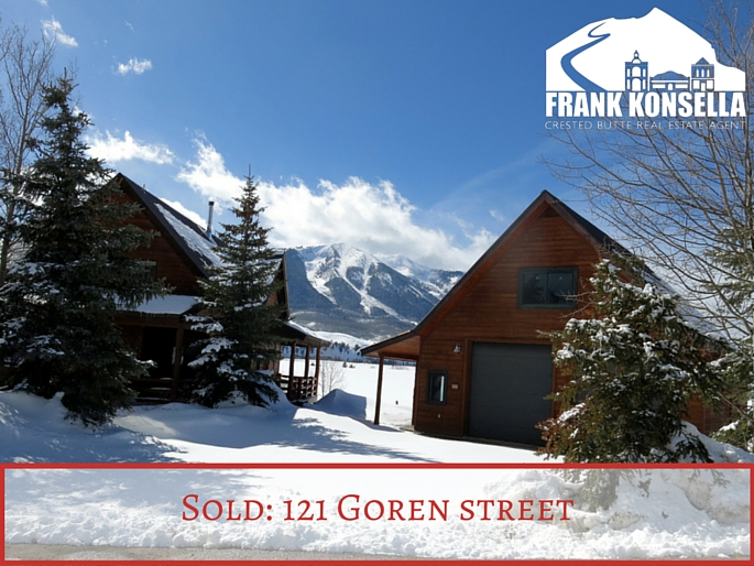 121 Goren street Crested butte home sold
