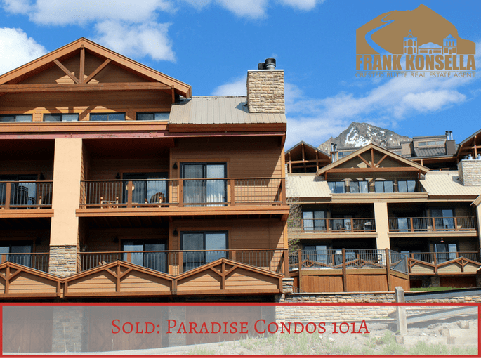 Crested Butte Paradise condo sold