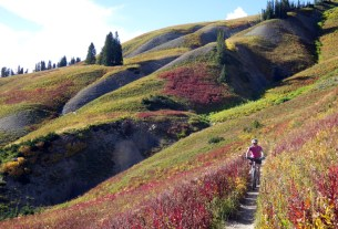 Crested Butte mountain biking neighborhoods