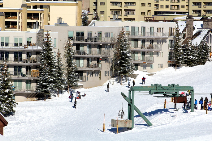 Gateway ski in ski out Condominiums Crested Butte