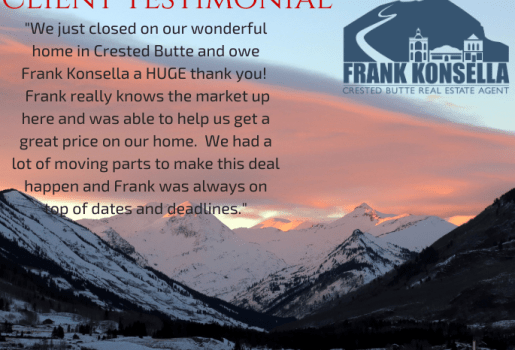 crested butte real estate buyer reccomendation