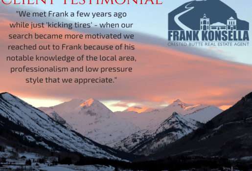crested butte real estate buyer review