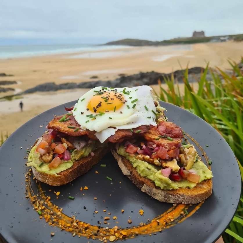 Cafes, Fistral Beach