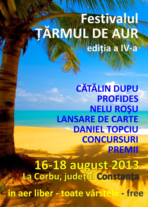 festivalul tarmul de aur 2013
